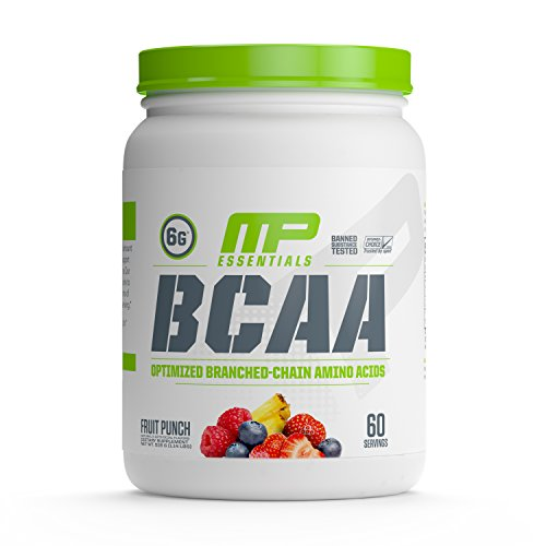 MP Essentials BCAA Powder, 6 Grams of BCAA Amino Acids, Post-Workout Recovery Drink for Muscle Recovery and Muscle Building, Valine Powder, BCCA Post-Workout, Fruit Punch, 60 Servings