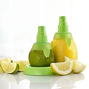 2pcs Manual Juice Spray Lemon Juicer Set