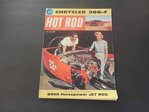 Packard Rod Hewlett - Hot Rod Apr 1960 Chrysler 300 F; 6900 HP Jet Rod