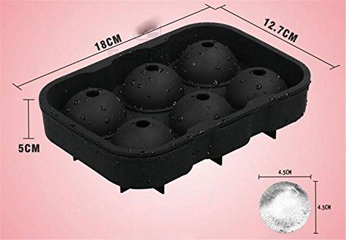 Compra STEAM PANDA Bandeja De Hielo Molde De Helado Circular Gel De Sílice Modelo De Hielo 45 Mm en Amazon.es