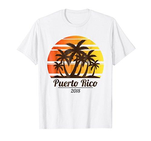 Matching Family Trip Tee 2018 Puerto Rico Vacation Shirt