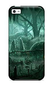 2015 2227124K70975059 Special Skin Case Cover For Iphone 5c, Popular Forest Phone Case