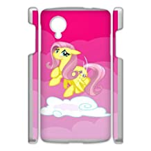 Durable Rubber Cases Google Nexus 5 Cell Phone Case White Yzrxu My Little Pony Protection Cover