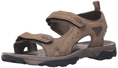 Northside Men's Riverside II Open-Toe Sandal,Brown,8 M US