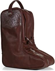 Justin Unisex Tooled Boot Bag - Jbbb12