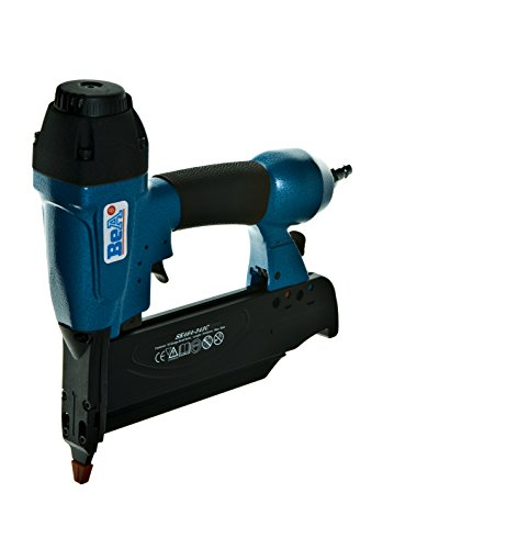 BeA 12100427 SK464-343C 16-gauge Pneumatic Finish Nailer with Slim Non Mar Tip, 2-1/2 Max Leg