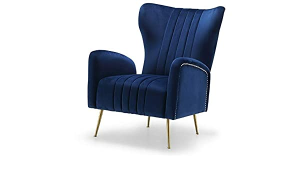 Amazon.com: Hebel Opera Velvet Accent Chair | Model CCNTCHR - 265 |: Kitchen & Dining