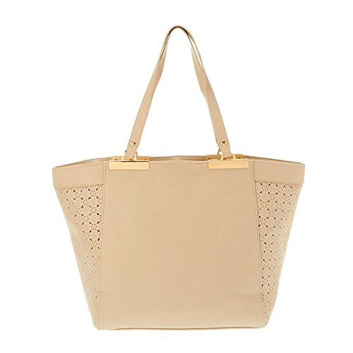 Icing Beige And Rose Gold Tote 24105