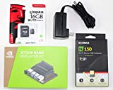 NVIDIA Jetson Nano Starter Kit with Jetson Nano Developer kit, 16GB UHS-1 microSD Card with Jetson Nano Developer kit Image, 5V 4A DC Power Supply, Edimax USB WiFi for DeepLearning AI Development
