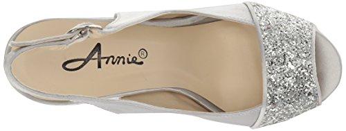 Annie Chaussures Femmes Bongo W Robe Sandale Argent