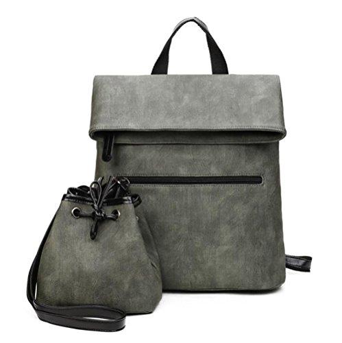 à occasionnel main de mode souple à dos 35cm 15 cuir Sac de en sac multifonctionnel 30 PU femmes sac OwqzP6g