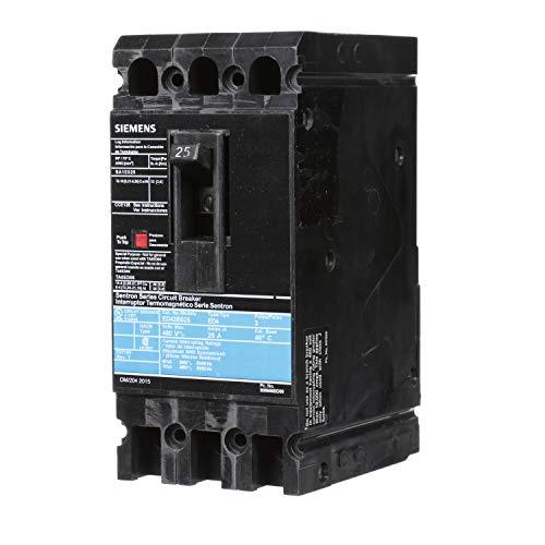 Siemens ED43B025 Circuit Breaker, Type ED4, 25 Amp, 3 Pole ()