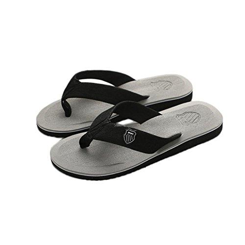 flop Outdoor Hombres zapatillas verano Gris y playa Ouneed flip Indoor XwF0dqqAx