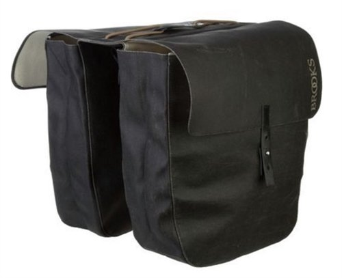 9f072e381a Brooks England Unisex's Brick Lane Roll-up Panniers, Black, One Size:  Amazon.co.uk: Sports & Outdoors