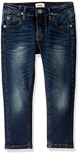 HUDSON Boys' Little Jagger Slim Straight Jean, Norton Wash, 7