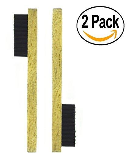 Vincent Wood Tool Shaving Clean Clipper Brush (2 per pack) VT145