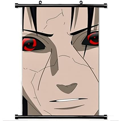 New Anime Poster Naruto Uchiha Itachi wall Scroll 60*90cm