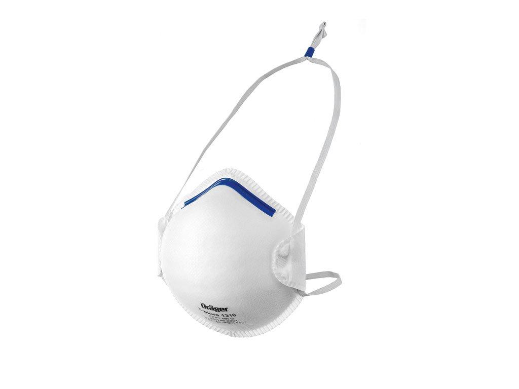 Drä ger X-plore 1320-V FFP2 NR D Filter Mask Pack of 10 Dräger