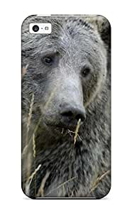 Anti-scratch And Shatterproof Grizzly Bears Phone Case For Iphone 5c/ High Quality Tpu Case hjbrhga1544