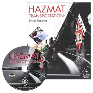 Hazmat Transportation: Driver Training - DVD Training by JJ Keller