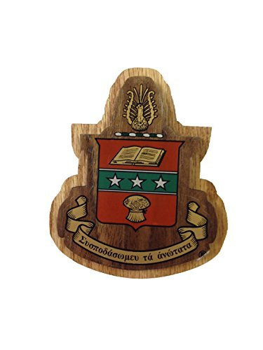 Alpha Chi Omega Wood Crest Made of Wood for Paddle Mascot Board AXO (3.5