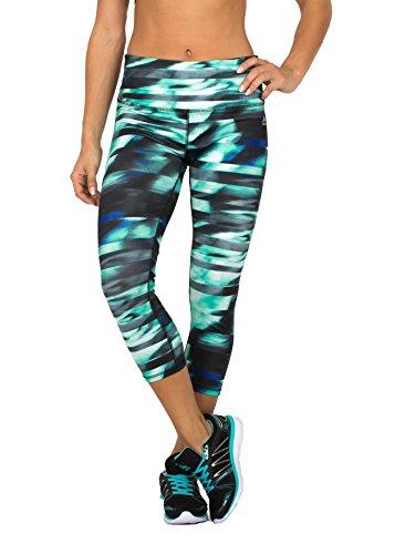 RBX Active Womens Seasonal Printed Capri Length Yoga Leggings