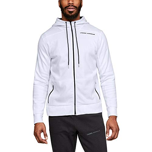Under Armour Mens Pursuit Microthread Full Zip Red XL
