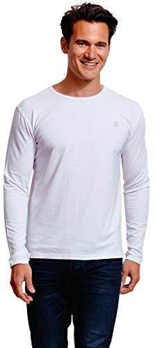 Solbari UPF 50+ Men's Sun Protection Long Sleeve T-Shirt - UV Protection, Sun Protective