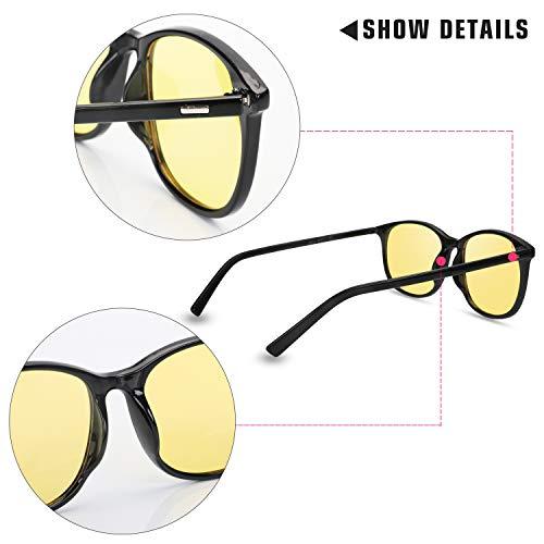 ee3d80ea3c Night Driving Glasses Anti Glare Polarized Women   Men HD Vision Eyeglasses