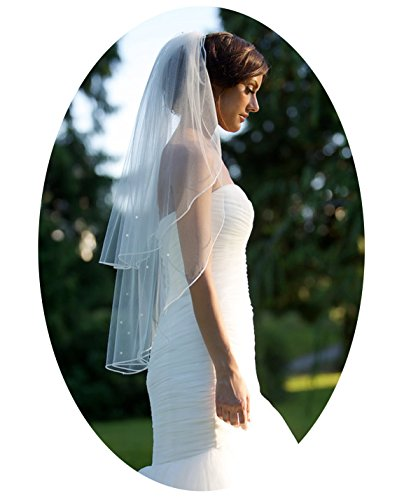 Belle House Tulle Sheer Wedding Bridal Veils Cathedral for Bride 11059-2