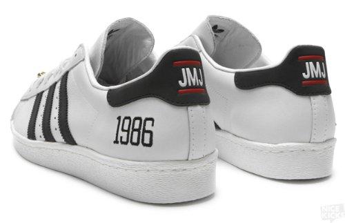 sports shoes 6fb77 f22f3 adidas Superstar 80s My Run DMC (JMJ-Jam Master Jay) 25th Anniversary (