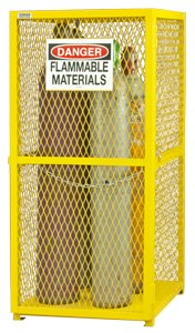 Durham - EGCVC9-50 - Gas Cylinder Cabinet, 30x30, Capacity 9 (Gas Cylinder Cabinet)