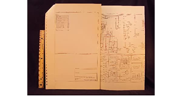 1976 76 ford f500 - f 880 cab truck electrical wiring diagrams manual  ~original loose leaf – january 1, 1976