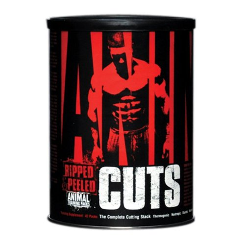 Universal Nutrition Animal Cuts, Ripped and Peeled Animal Training Pack, Sports Nutrition Supplement, 42 Servings