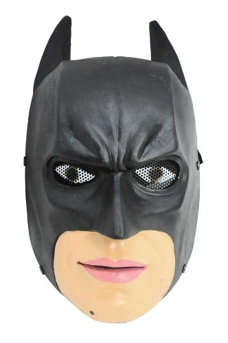 FMA New Wire Mesh Full Face Protection Paintball Airsoft Batman Mask]()