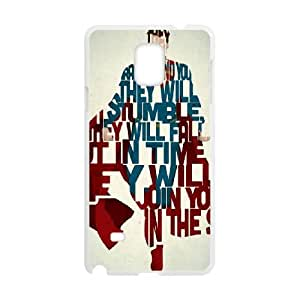 Superman Samsung Galaxy Note 4 Cell Phone Case White MSY152354AEW
