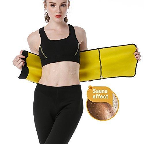 ac352a12ef AGROSTE Waist Trainer Sauna Sweat Belt for Women-Waist Cincher Trimmer -Hot  Fat Burning