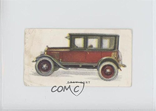 Gray Dort Ungraded COMC Poor to Fair (Trading Card) 1924 Imperial Tobacco Canada Motor Cars - Tobacco E50 #22