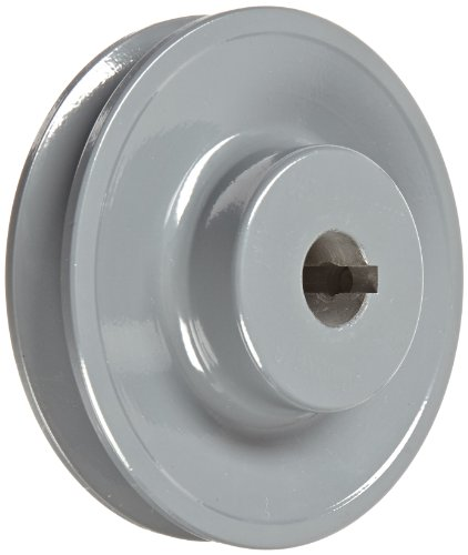 Gates AK39 Light Duty Web Sheaves, AK Type, 3.75'' OD, 1 Groove, 5/8'' Bore by Gates