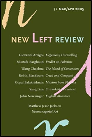 Amazon.com: New Left Review Number 32: Unnamed Unnamed: Books