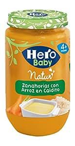 Hero Baby - Zanahorias Al Vapor con Arroz En Caldito - 235 g
