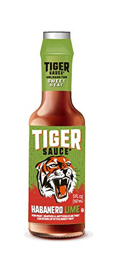Try Me Sauces Tiger Sauce, Habanero Lime, 5 Fluid Ounce