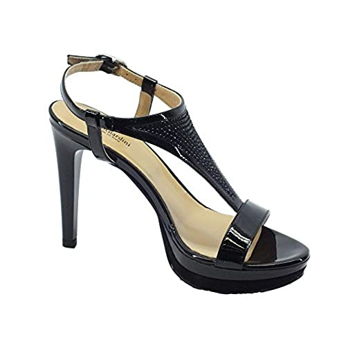 e5e2cf664dc8f Nero Giardini P717872d Naplak Nero - Sandalias de vestir de Piel para mujer  Venta caliente 2018