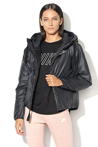 (Nike Women's Synthetic Fill Jacket (Black,)