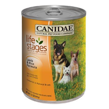 CANIDAE Life Stages All Life Stages Lamb & Rice Canned Dog Food, Case of 12, 13 oz.