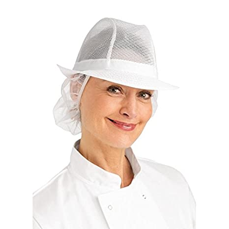 White A653-S Trilby Hat with Snood