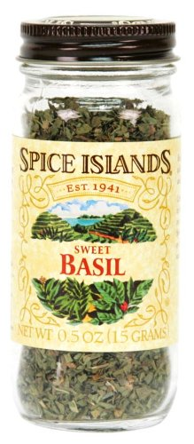 Spice Islands Basil, Sweet, .5-Ounce (Pack of 3)