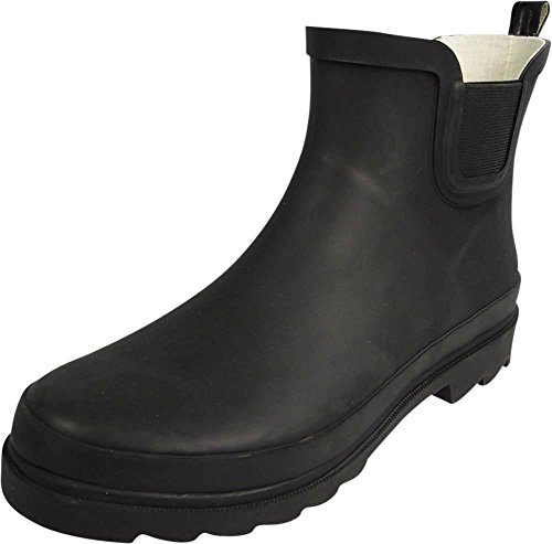 - NORTY - Womens Ankle High Rain Boot, Matte Black 39971-10B(M) US
