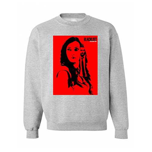 Blacklist Series Red Unisex Sweater