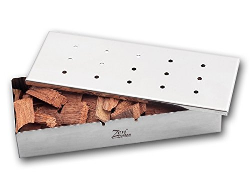 Urban Zen ZenUrban 870031 Wood Chip Smoker Box by Urban Zen